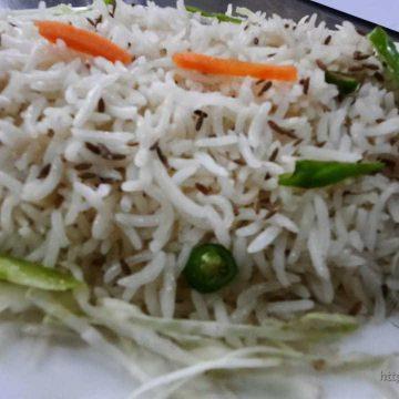 Rice Plain Basmati (Full Plate)