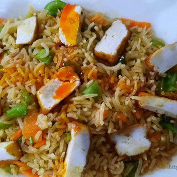 Cheese Pulao / Biryani / Fried Rice