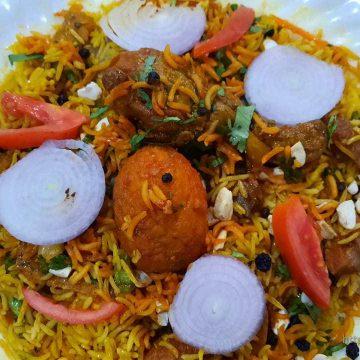 Egg Pulao / Briyani / Fried Rice