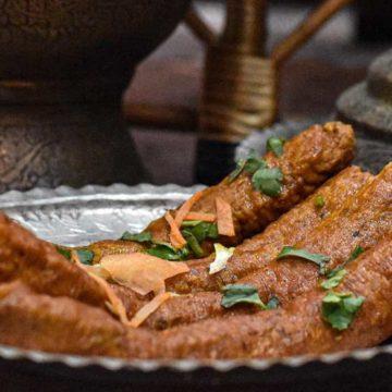 Seekh Mutton Kebabs