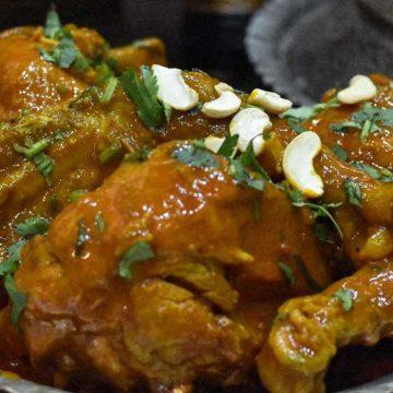 Wazz Kokur (Wazwan Chicken)